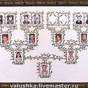 Картины и панно ручной работы. Ярмарка Мастеров - ручная работа Семейное древо вышитое. Handmade.