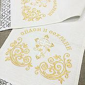 Русский стиль handmade. Livemaster - original item The towel on the icon.. Handmade.