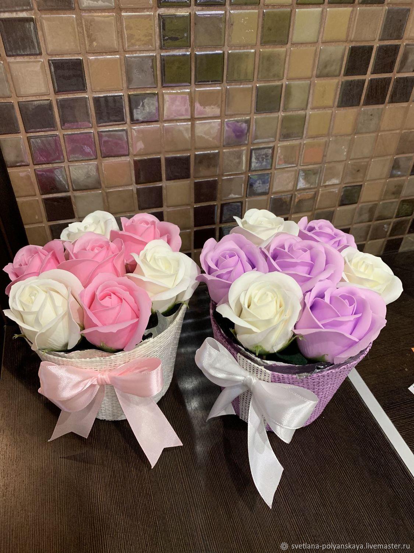розы, Мыло, Москва,  Фото №1