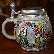 Винтаж handmade. Livemaster - original item Collectible beer mug