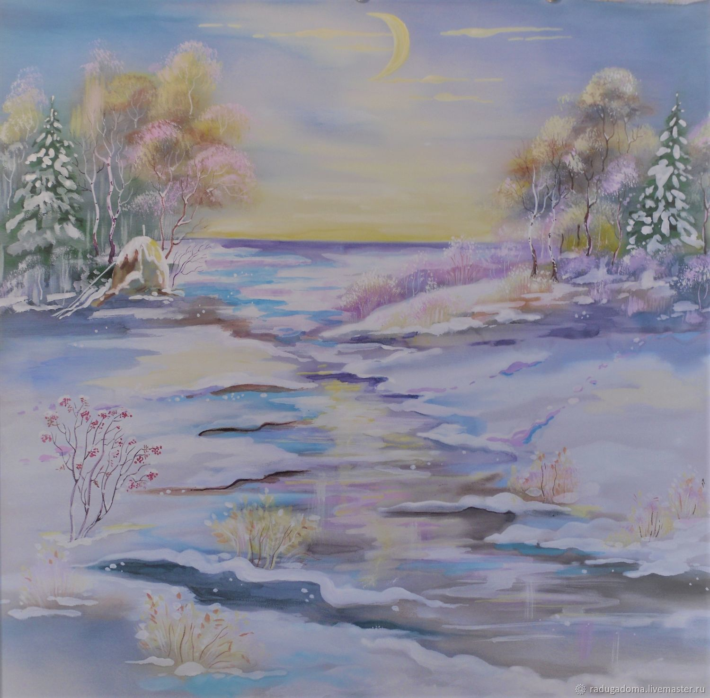 Картина. Зима, Картины, Санкт-Петербург,  Фото №1