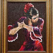Картины и панно ручной работы. Ярмарка Мастеров - ручная работа серия ФЛАМЕНКО. Handmade.