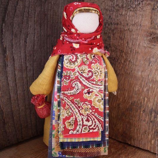 """Народные куклы ручной работы. Ярмарка Мастеров - ручная работа. Купить Народная русская куколка-подорожница """"Любава"""". Handmade. Комбинированный"""