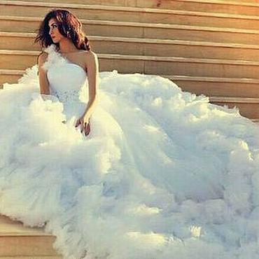 Свадебный салон ручной работы. Ярмарка Мастеров - ручная работа Свадебное платье Облако. Handmade.