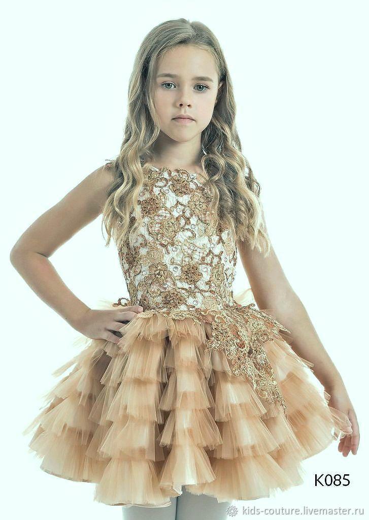 Платье для девочки К085, Платья, Москва,  Фото №1