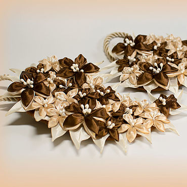 Для дома и интерьера ручной работы. Ярмарка Мастеров - ручная работа Подхваты для штор на магнитах. Handmade.
