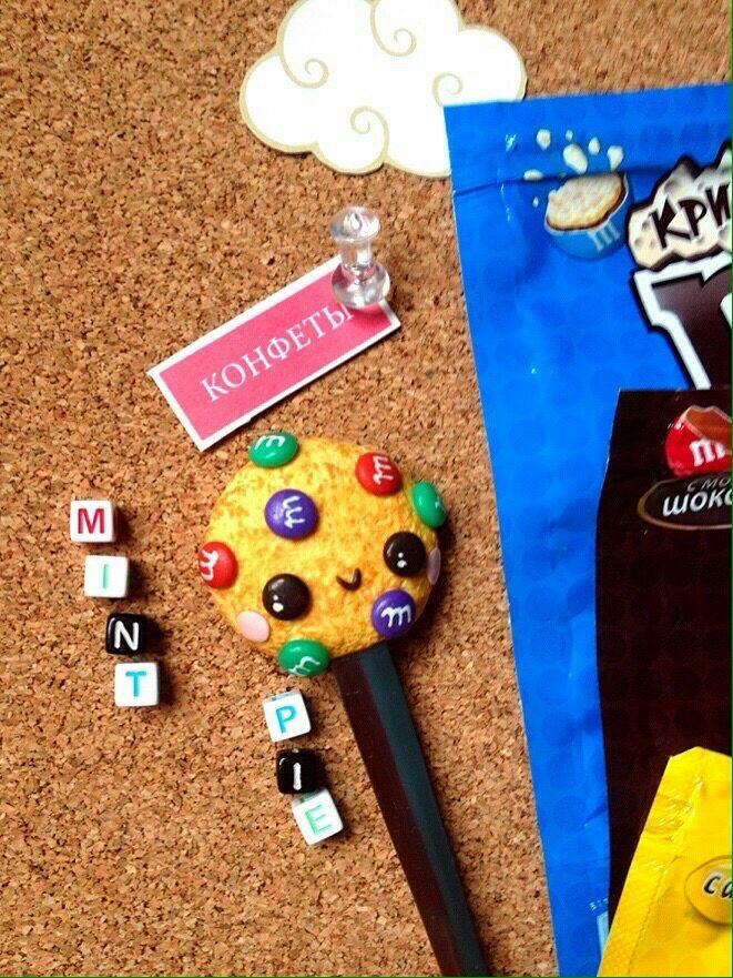 Чайная ложка с печеньем и M&M, Ложки, Выборг,  Фото №1