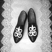 Обувь ручной работы. Ярмарка Мастеров - ручная работа Обувь- Авторский Декор У-134. Handmade.