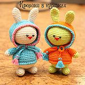 """Куклы и игрушки ручной работы. Ярмарка Мастеров - ручная работа Игрушка """"Кролик в куртке"""". Handmade."""