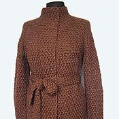 """Одежда ручной работы. Ярмарка Мастеров - ручная работа Кардиган """"Трюфель"""". Handmade."""