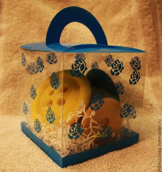 Подарочный набор мыла. Подарок рукодельнице. 8 марта. Edenicsoap.
