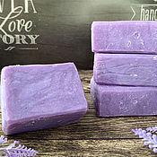 Косметика ручной работы handmade. Livemaster - original item Soap natural Lavender. Handmade.