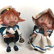 Куклы и игрушки ручной работы. Ярмарка Мастеров - ручная работа Ты морячка я моряк. Handmade.