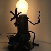 Сувениры и подарки handmade. Livemaster - original item Lamp