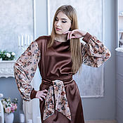 Одежда handmade. Livemaster - original item Dress cocktail