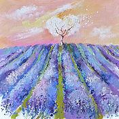 Картины и панно ручной работы. Ярмарка Мастеров - ручная работа Lavender harmony. Handmade.