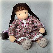 Куклы и игрушки ручной работы. Ярмарка Мастеров - ручная работа Ксюшенька, вальдорфская кукла. Handmade.