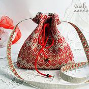Сумки и аксессуары handmade. Livemaster - original item Slavic handbag
