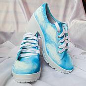 Обувь ручной работы handmade. Livemaster - original item Shoes for women with a painted