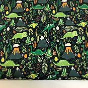 Материалы для творчества handmade. Livemaster - original item Duspo print, Dinosaurs, ,100% p / e, W. .145, 90g / m2, Russia. Handmade.