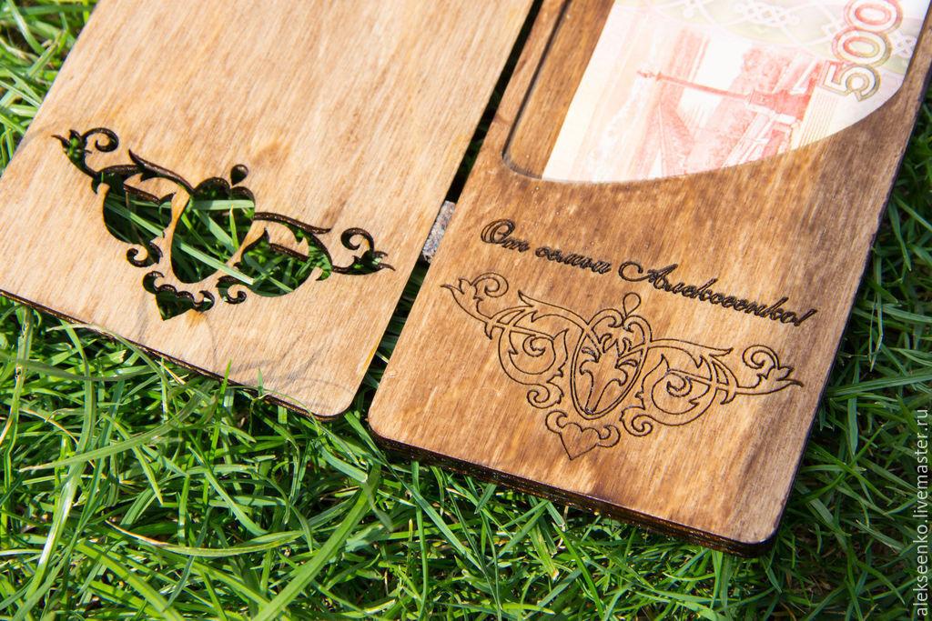 Открытка своими руками из дерева, открытки