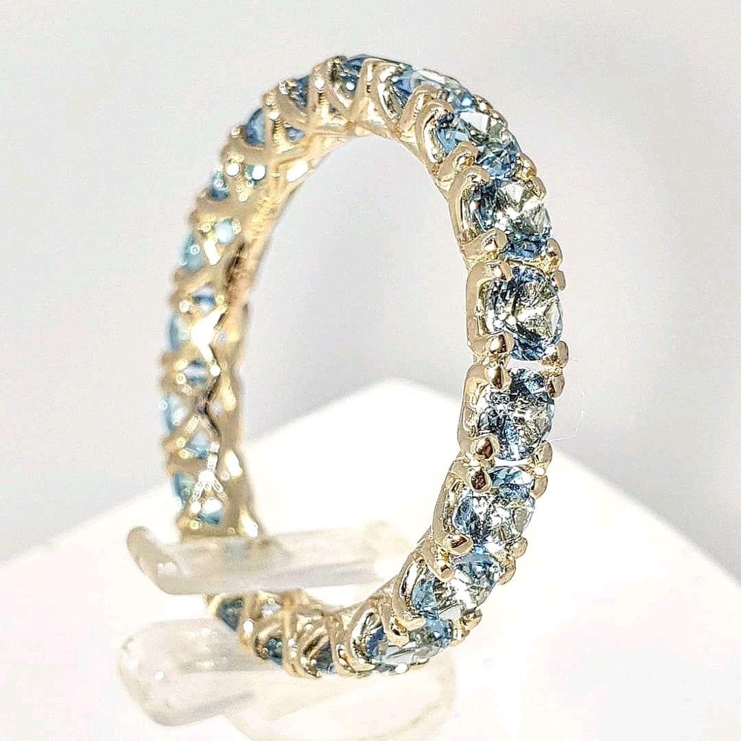 Кольцо из желтого золота с топазами – купить на Ярмарке Мастеров – IJ04HRU   Кольца, Санкт-Петербург