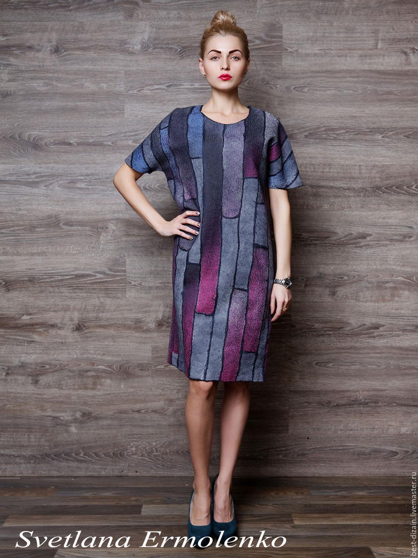 Фото валяных платье