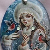 Украшения handmade. Livemaster - original item Beautiful Winter. Handmade.