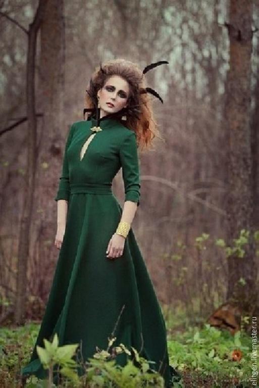 Платья ручной работы. Ярмарка Мастеров - ручная работа. Купить Платье длинное. Handmade. Длинное платье в пол, платье от дизайнера