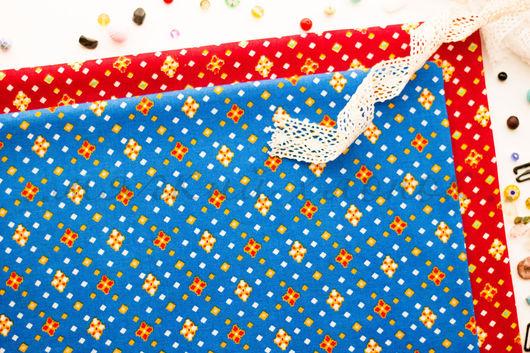 Хлопок 100%. Ткань для шитья, тильд, игрушек, квилтинга, пэчворка, скрапбукинга. Мягкий хлопок. Ткань для творчества. Ивановские ткани. Ситец. Бязь. Купить ткань. Хлопок, геометрический орнамент, ромб