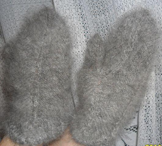 Варежки - руковички женские Тепло Урюпинский козий пух