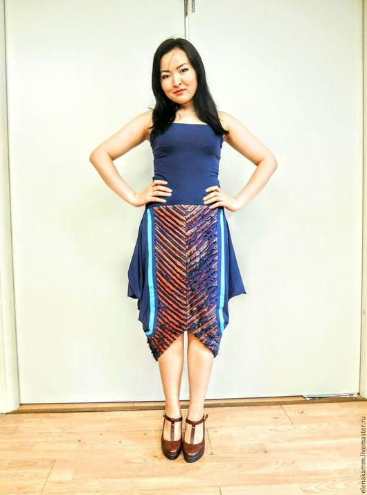 Платья ручной работы. Ярмарка Мастеров - ручная работа. Купить Платье (юбка) из эксклюзивной авторской ткани. Handmade. Платье нарядное