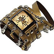 Украшения handmade. Livemaster - original item Unusual wrist watch Steampunk