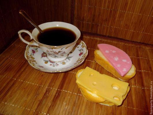 """Мыло ручной работы. Ярмарка Мастеров - ручная работа. Купить Мыло 3D """"Бутерброд"""". Handmade. Бутерброд, прикольный подарок"""