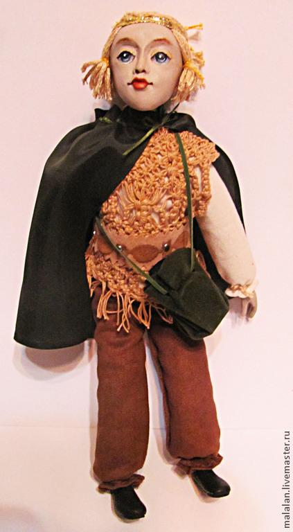 """Сказочные персонажи ручной работы. Ярмарка Мастеров - ручная работа. Купить Авторская куколка """"Эльфик"""". Handmade. Разноцветный, лесной житель"""