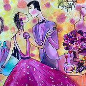 Картины ручной работы. Ярмарка Мастеров - ручная работа Танец счастья!. Handmade.