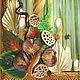 """Интерьерные композиции ручной работы. Картина """"Мелодия природы"""". Фантазерки (fantazerki). Интернет-магазин Ярмарка Мастеров. Интерьер, коллеге, сухоцветы"""