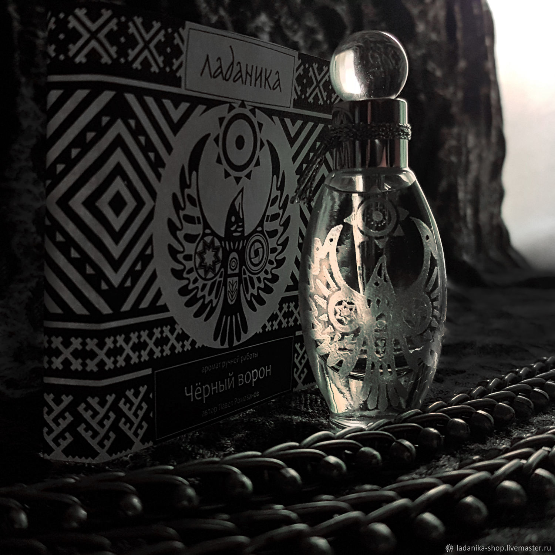 Черный ворон, флакон духов 9 мл, Духи, Протвино,  Фото №1