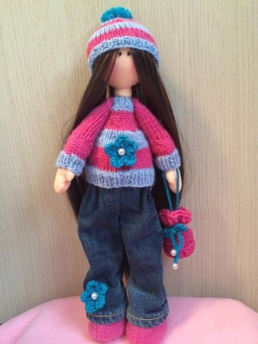 Коллекционные куклы ручной работы. Ярмарка Мастеров - ручная работа. Купить Мила. Handmade. Кукла ручной работы, хендмейд, трессы