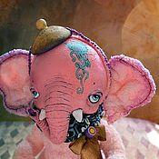 Куклы и игрушки handmade. Livemaster - original item Tea elephant. Handmade.