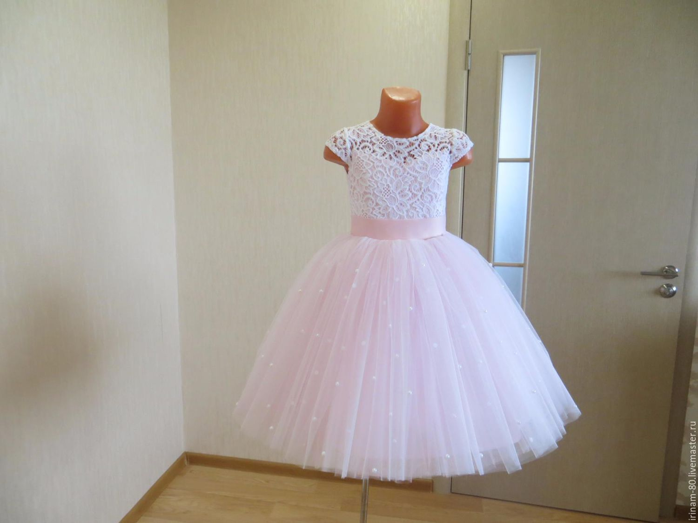 Платье на девочку на утренник