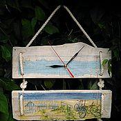 Для дома и интерьера ручной работы. Ярмарка Мастеров - ручная работа Часы настенные из дерева. Handmade.