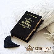 """Сумки и аксессуары handmade. Livemaster - original item Клатч-книга """"Анна Каренина"""" black. Handmade."""