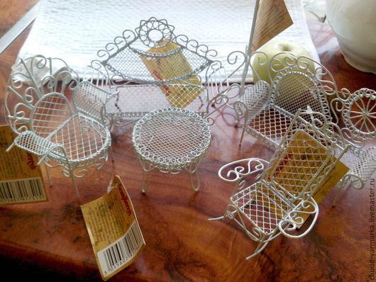 Детская ручной работы. Ярмарка Мастеров - ручная работа. Купить Мини-мебель. Handmade. Мини-мебель, кукольная мебель