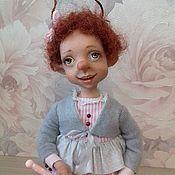 """Куклы и игрушки ручной работы. Ярмарка Мастеров - ручная работа Букашка цирковая """" Лора"""". Handmade."""