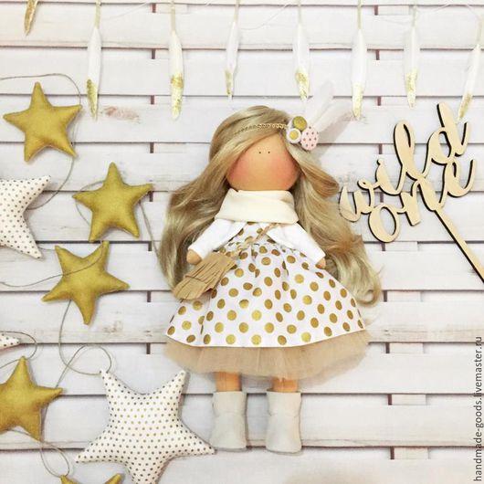Куклы тыквоголовки ручной работы. Ярмарка Мастеров - ручная работа. Купить малышка Kitty. Handmade. Кукла ручной работы