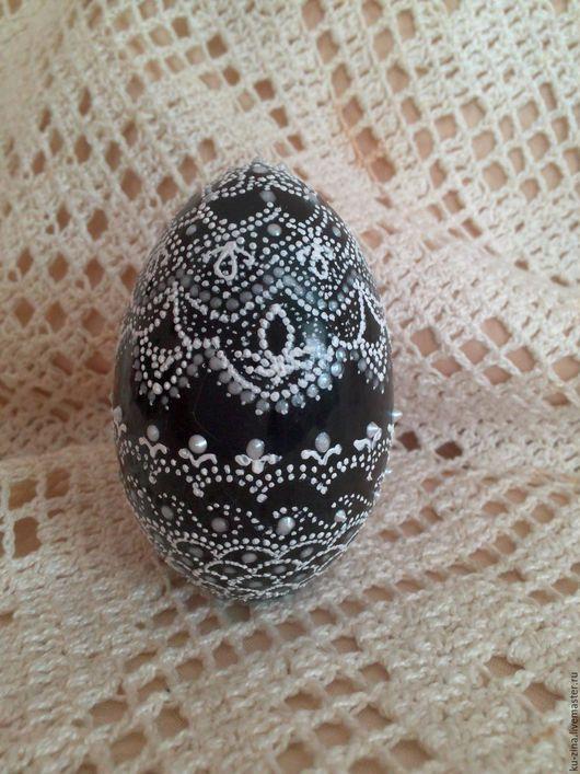 Яйца ручной работы. Ярмарка Мастеров - ручная работа. Купить Пасхальное яйцо. Кружевное.. Handmade. Сувениры и подарки, пасхальное яйцо