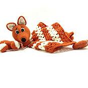 Подарки к праздникам handmade. Livemaster - original item A gift for a newborn. Toy komforter.Toy napkin. pieces. Handmade.