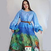 Одежда handmade. Livemaster - original item Felted dress