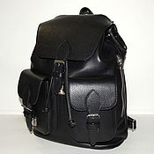 d001aa2fd424 Womens backpack brown leather Claire – shop online on Livemaster ...